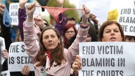 Protests in Ireland after thong underwear cited as sign of consent in rape trial