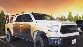 Hero California nurse gets new truck after vehicle damaged in Camp Fire