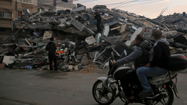 The Latest: Hamas: Lieberman's exit is a 'victory for Gaza'