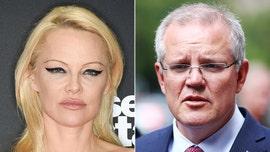Pamela Anderson slams Australian Prime Minister Scott Morrison for 'smutty' comments