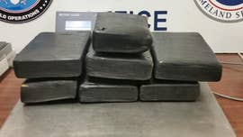 Border agents seize nearly $500G in cocaine over the weekend