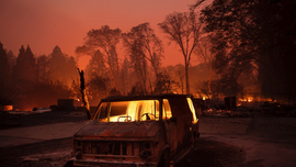 AP PHOTOS: Wildfires rage; destruction, death in their wake