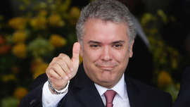 Colombia president snagged by protests, congressional revolt