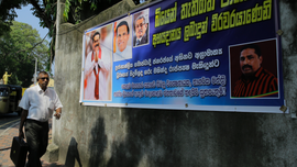 Chaotic Sri Lankan Parliament rejects president's chosen PM