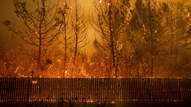 Scientists: Wind, drought worsen fires, not bad management
