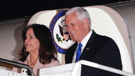 Pence tells media 'attacks on Christian education must end'