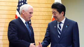 Pence, Abe agree on Nkorea sanction, Indo-Pacific projects