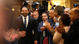 Lebanese premier accuses Hezbollah of blocking government