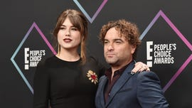 Johnny Galecki makes red carpet debut with new, younger girlfriend