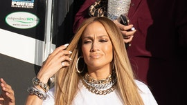 Jennifer Lopez flaunts her thong on music video set