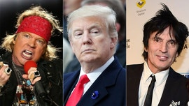 Axl Rose, Tommy Lee and other celebrities criticize Trump for California wildfires response