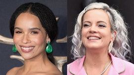 Zoe Kravitz says Lily Allen 'attacked' her with a kiss