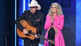 CMA Awards co-hosts Carrie Underwood and Brad Paisley praised for leaving politics out of award show