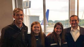Ted Cruz, Beto O'Rourke smile for photo in Texas airport in first meeting since election