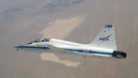 Air Force T-38 Talon crashes crashes on Texas base