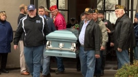 Veteran with no family has hundreds show up for funeral in Tennessee