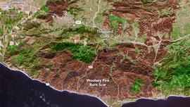 California wildfire satellite image shows extent of devastation left by Malibu-area blaze