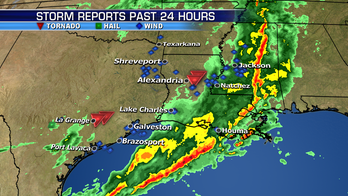 Severe storms hit the Gulf Coast, unsettled weather in the northwest