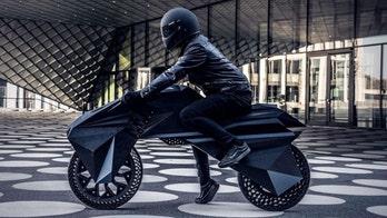 3D-printed motorcycle is like nothing you've seen...yet