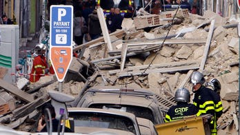Two buildings collapse in the French city of Marseille