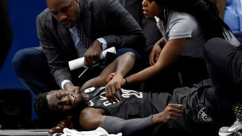 GRAPHIC VIDEO: Brooklyn Nets' Caris Levert sustains severe leg injury, players 'were crying'