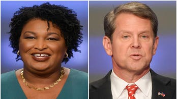 Braves pennant win prompts GOP's Brian Kemp to jab at Stacey Abrams, MLB over Atlanta All-Star snub
