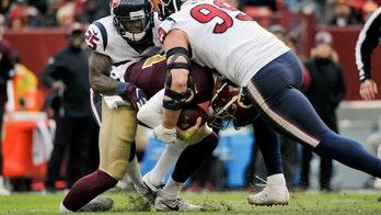 Washington Redskins' Alex Smith ditches leg brace 8 months after gruesome injury