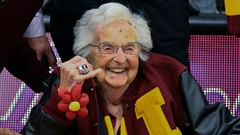 Loyola-Chicago's Sister Jean, 99, gets her own Final Four ring after team's miracle run