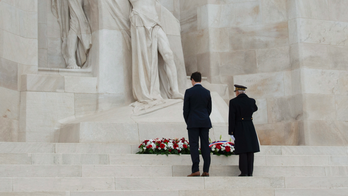 Centenary of WWI's end bringing leaders to Arc de Triomphe