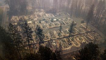 The Latest: Rain helps fight against deadly California blaze