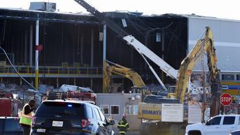 Forecasters: Tornado hit Baltimore Amazon center, killing 2