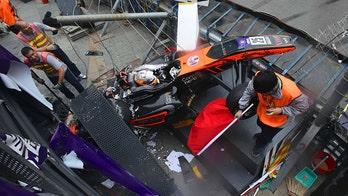 Formula 3 driver Sophia Floersch suffers spinal injury in scary crash at Macau Grand Prix