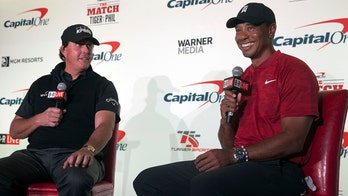 Tiger Woods, Phil Mickelson make side bet ahead of one-on-one match in Las Vegas