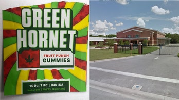 5 middle-school students hospitalized after eating THC-laced candies during gym
