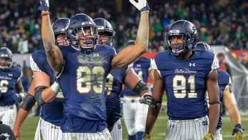 Notre Dame wins big, looks ahead to possible playoff spot