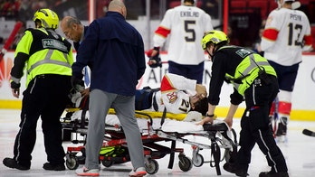 Florida Panthers' Vincent Trocheck leaves game on stretcher after gruesome leg injury