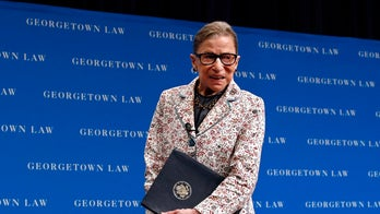 Ginsburg 'up and working' after fall, says nephew