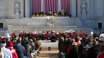 Trump, Pence miss Veterans Day observance at Arlington Cemetery