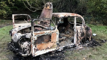 Beloved classic car stolen and set on fire