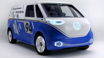 L.A. Auto Show: The Volkswagen I.D. Buzz Cargo Concept is a retro electric reboot of the Microbus