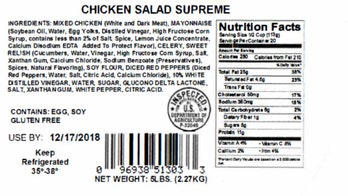 Houston company recalls nearly 7,000 pounds of chicken salad