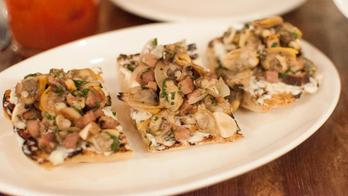 Long Island Clam Toast