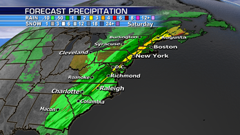 Wet weather threatens Northeast and midterm Election Day