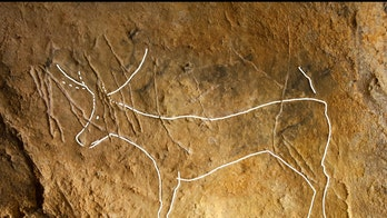 12,000-year-old cave art from the Ice Age found