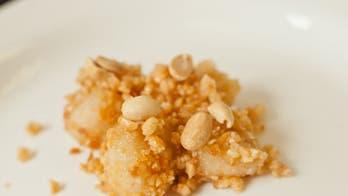 Peanut-Covered Mochi