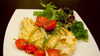 Baked Panko-Crusted Chicken Breast