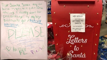 Girl writes letter to Santa, asks for kidney on behalf of sick brother