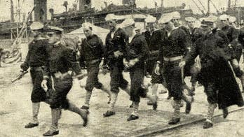 World War I soldiers seen arriving in Europe to fight alongside Allies in rare photos