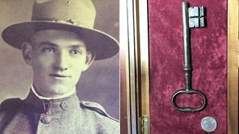 World War I centennial: US author honors grandfather by returning key taken from France 100 years ago