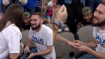 Dallas Mavericks fan gets invited to couple's wedding after viral reaction to proposal